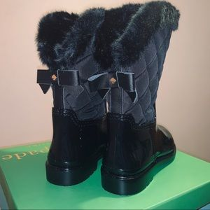 NEW NEVER WORN Kate Spade Reid Quilted Boots